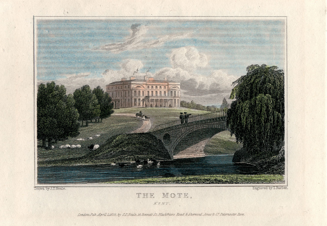 Engraving by JP Neale; 1825