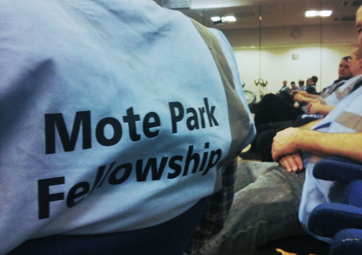 Mote Park Fellowship volunteers
